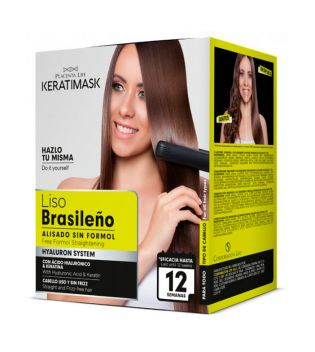 Be natural - Brazilian straightening kit sem formaldeído