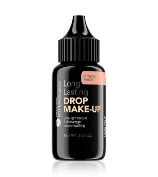 Bell - Maquiagem hipoalergênica e base Drop Make-up - 07: Warm Peach