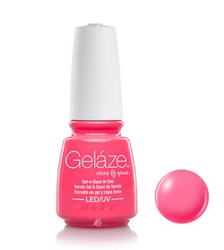 China Glaze - Verniz de unhas de gel Geláze - 81685: Shocking Pink