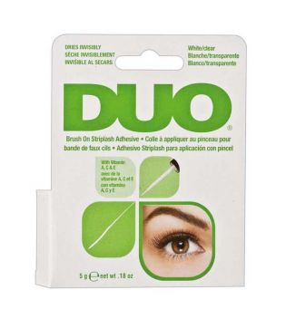 DUO - Brush on glue adhesive LATEX FREE - Clear