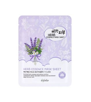 Esfolio - Máscara Pure Skin Essence Mask Sheet - Herb