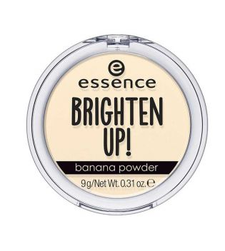essence - Pó compacto matificante brighten up! - 10: Banana