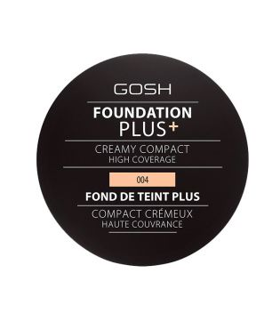 Gosh  - Base de maquilhagem Foundation Plus+ Creamy Compact - 004