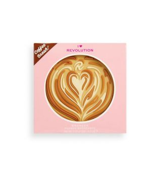 I Heart Revolution - Bronzer em pó Tasty Coffee - Mocha