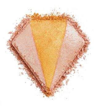 I Heart Revolution - Triple Baked Highlighter Diamond - Champagne & Diamonds