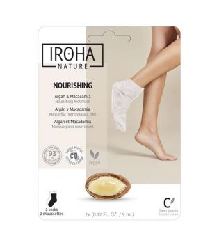Iroha Nature - Meias Nutritivas Foot Mask - Argan