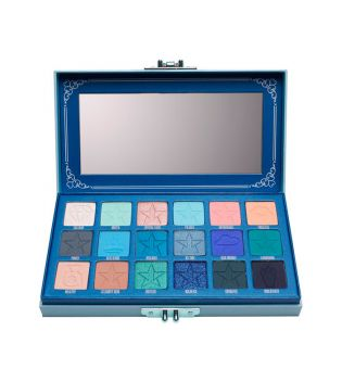 Jeffree Star Cosmetics - *Blue Blood Collection* - Paleta de sombra para os olhos - Blue Blood