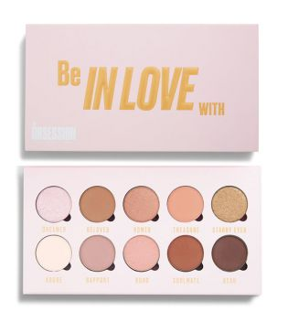 Makeup Obsession - Paleta de sombras de olhos Be In Love With