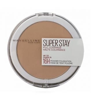 Maybelline - Mattifying Pó compacto Superstay 24H - 21: Nude