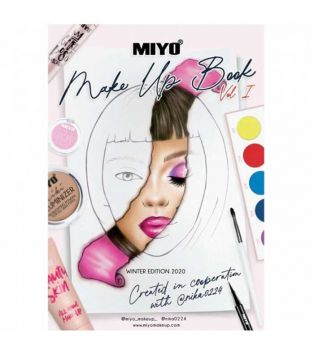 Miyo - Face Chart Notebook