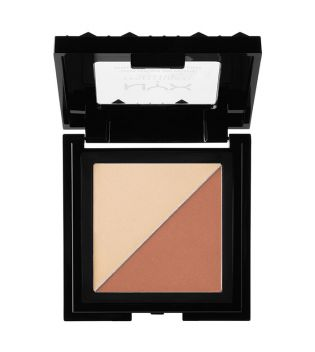 Nyx Professional Makeup - Cheek Contour Duo Palette - CHCD03: Perfect Match