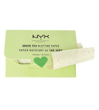Nyx Professional Makeup - Green Tea Blotting Paper - BPRGT