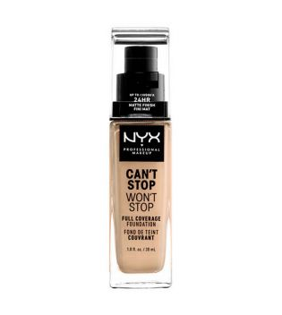 Nyx Professional Makeup - Base de maquilhagem Can't Stop won't Stop - CSWSF07: Buff