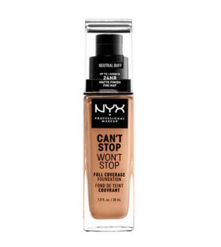 Nyx Professional Makeup - Base de maquilhagem Can't Stop won't Stop - CSWSF10.3: Neutral buff