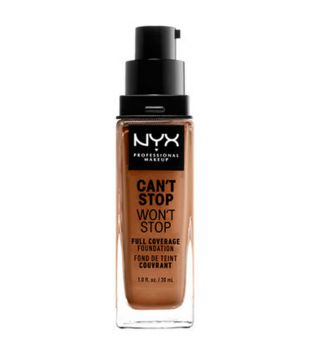 Nyx Professional Makeup - Base de maquilhagem Can't Stop won't Stop - CSWSF16: Mahogany