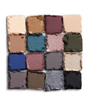 Nyx Professional Makeup - Eyeshadow Palette Ultimate - USP10: Ash