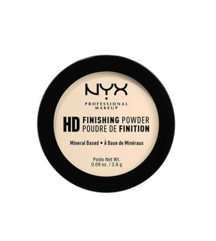 Nyx Professional Makeup - Pó translúcido High Definition Finishing Powder Mini - HDFPM02: Banana