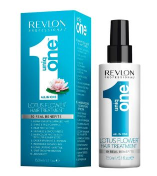 Revlon - UniqOne all in one hair treatment 150ml - Flor de lótus