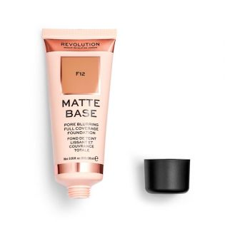 Revolution - Base de maquilhagem Matte Base - F12