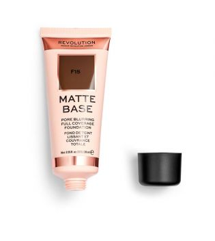 Revolution - Base de maquilhagem Matte Base - F15