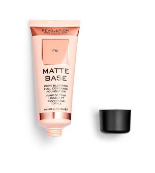 Revolution - Base de maquilhagem Matte Base - F9
