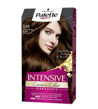 Schwarzkopf - Coloring Palette Intensive Creme Color - 3.65: castanha de chocolate