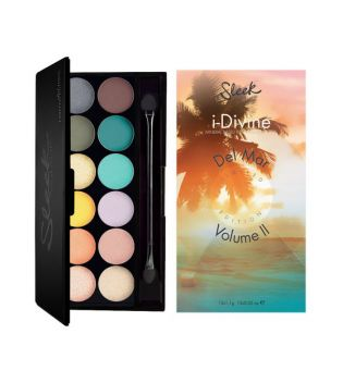 Sleek MakeUP - i-Divine - Paleta Del Mar Vol.2