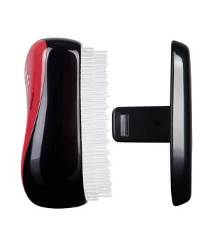 Compact Tangle Teezer - Detangling Brush - Minnie Mouse Rosie Red
