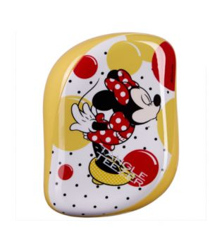 Compact Tangle Teezer - Detangling Brush - Minnie Mouse Sunshine Yellow