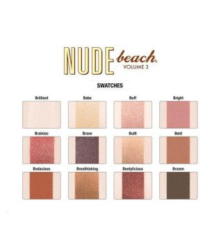 The Balm - Nude Beach Eyeshadow Palette